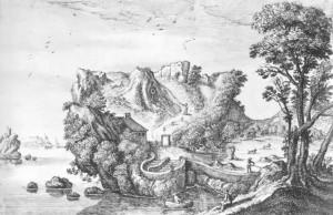 Landschafts-Kopf