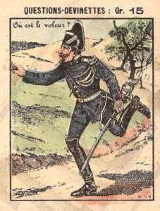 Gendarm und Dieb