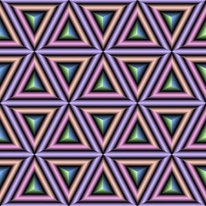 Dreiecke oder Würfel?