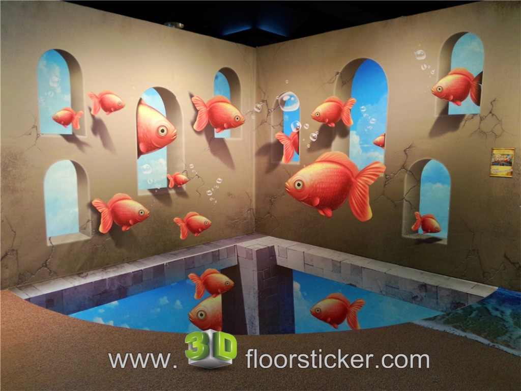 3d exhibition sticker #215