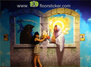 3d exhibition sticker #234