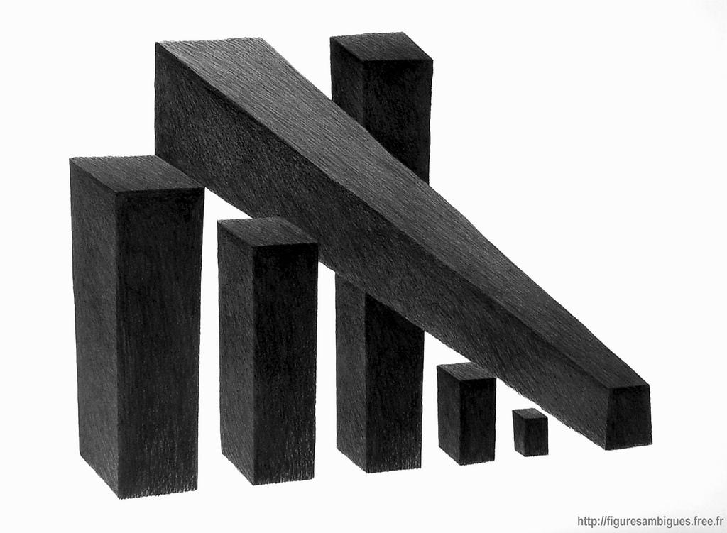 Liegende und stehende Balken