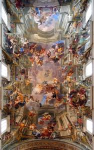 Die Apotheose des heiligen Ignatius