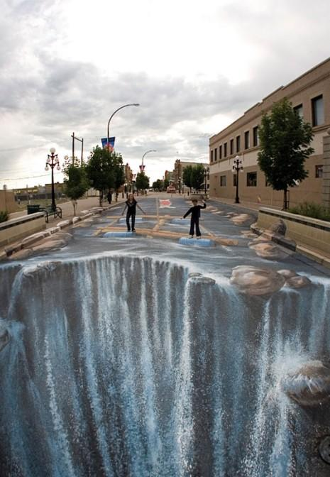 Streetart Trompe L œil Illusionen Biz