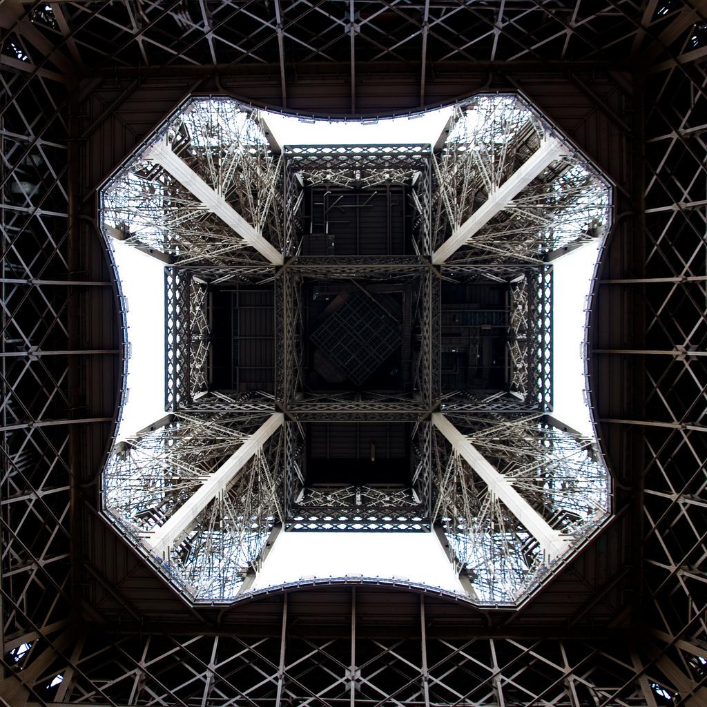 Unterm Eiffelturm