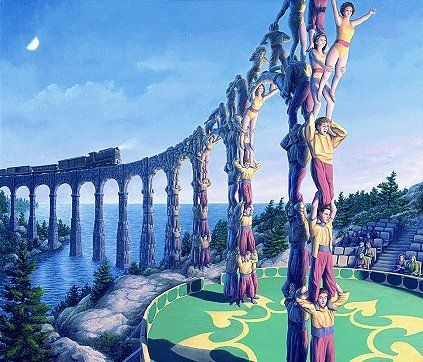Viadukt oder Artisten?
