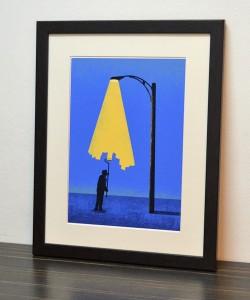 Lampe oder Maler?