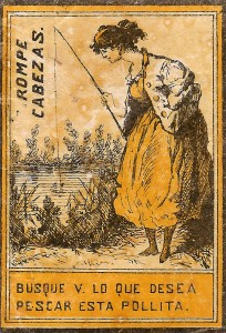 Die Anglerin