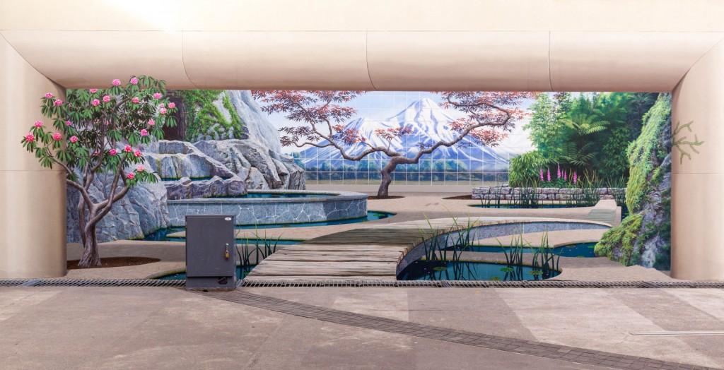 Mural in Neuseeland