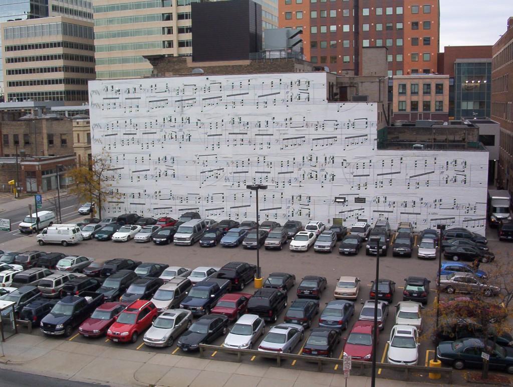 Parken mit Musik