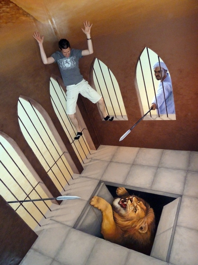 Trick Art Museum, Odaiba, Japan