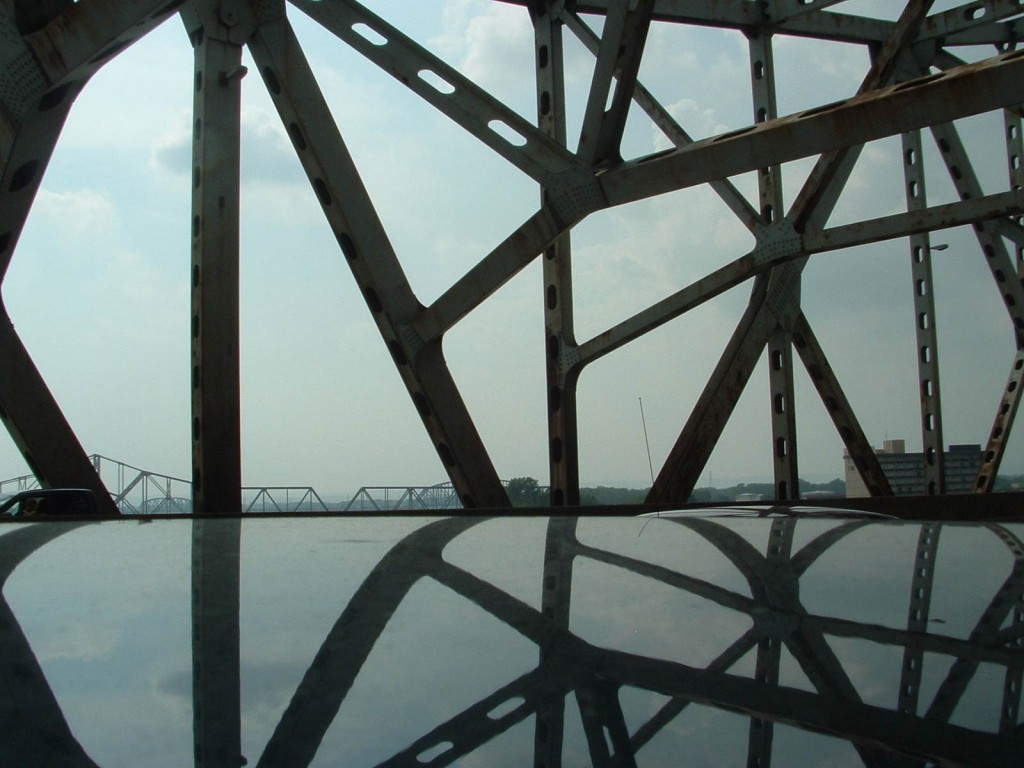 Ohio River Bridge Reflection