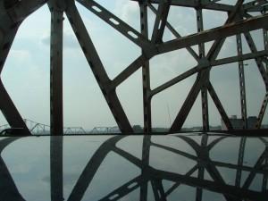 Ohio River Bridge Reflection