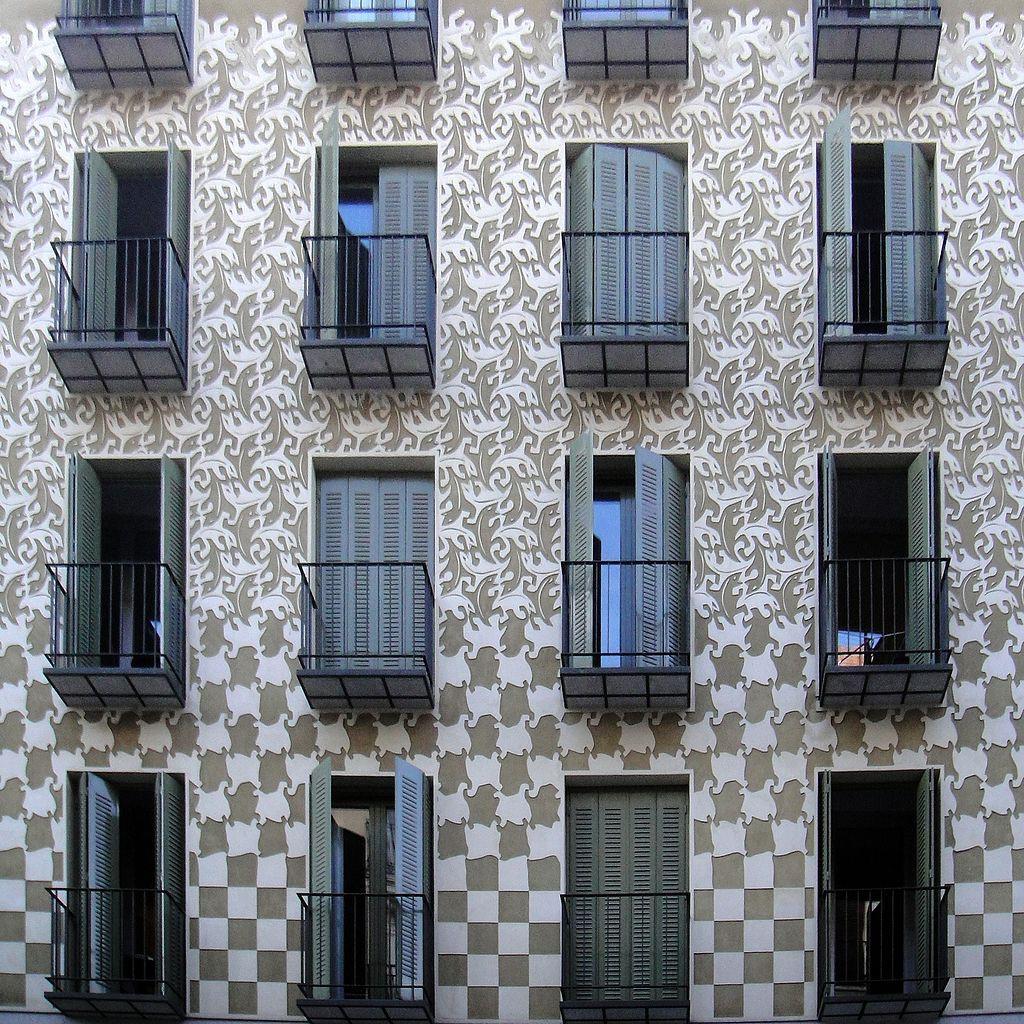 Escher-Fassade