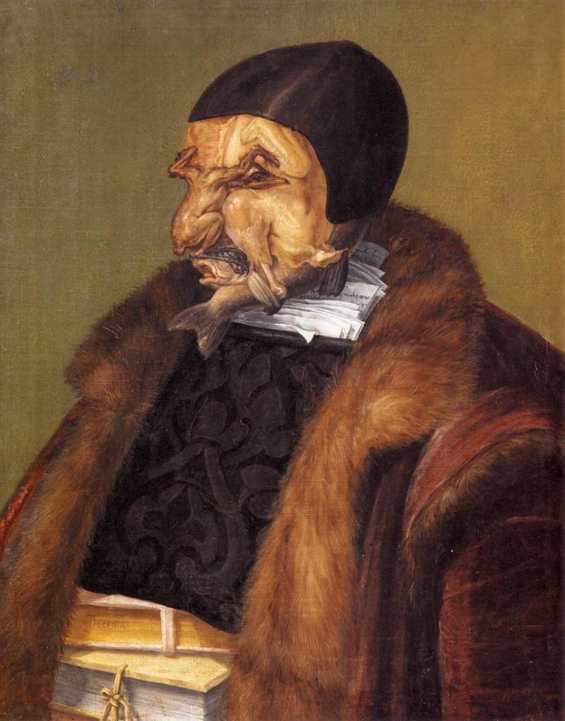 Giuseppe Arcimboldo – The Jurist