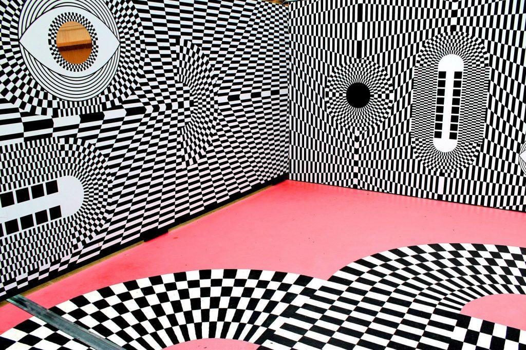 Adelaide Station Optical Illusion