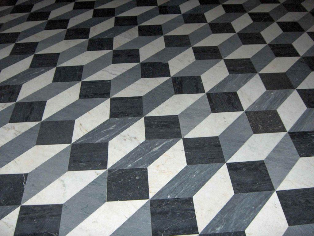Boden-Illusion