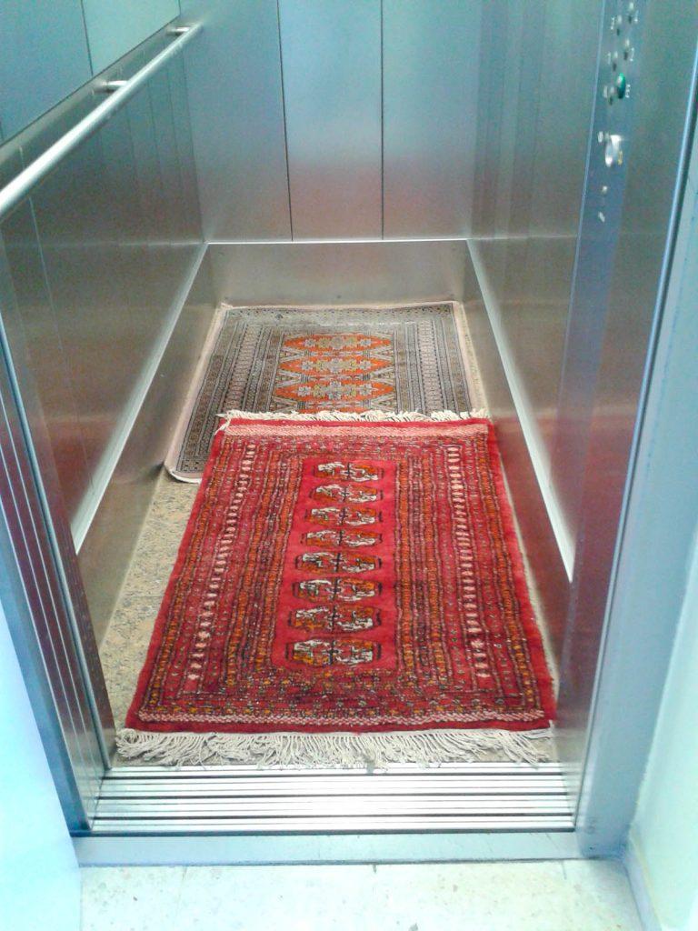 Gemütlicher Fahrstuhl