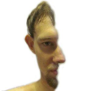 Gesicht vorne Seite