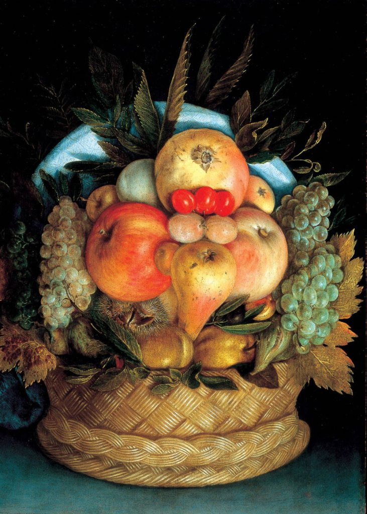 Arcimboldo Fruit Basket
