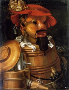 Der Kellner (Giuseppe Arcimboldo)