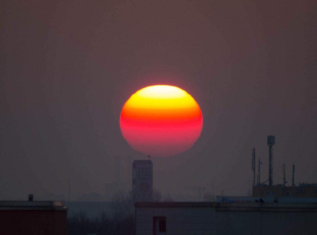 Sonne/Kirchturm