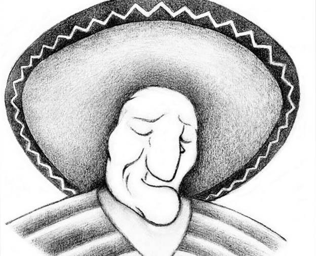 Mexikaner oder Frau