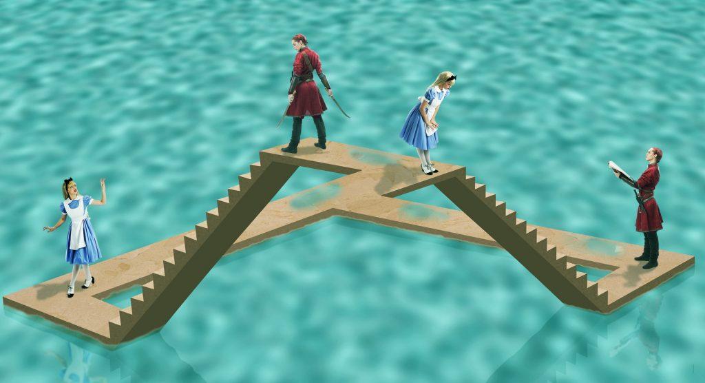 Unmögliche Treppe