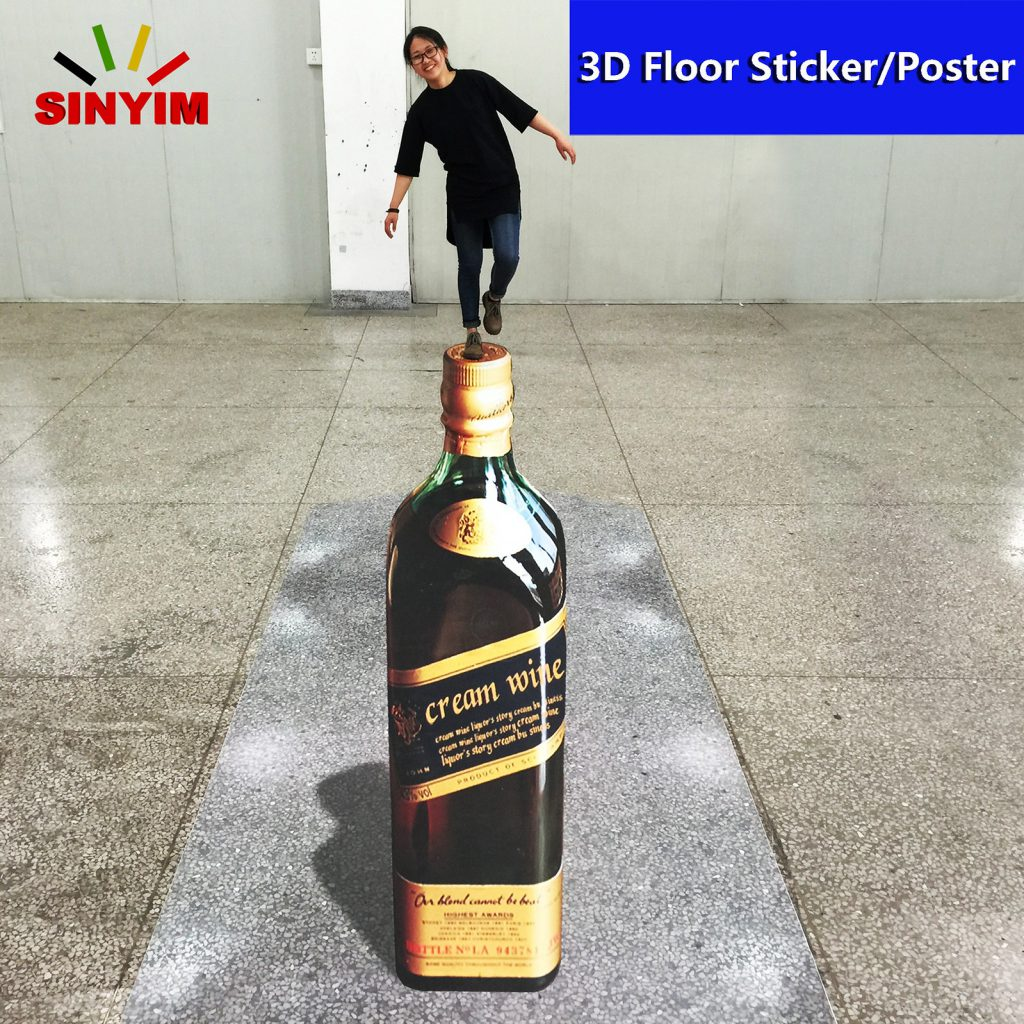 3D Floor Sticker Design
