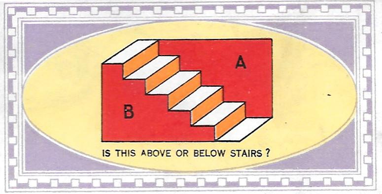 Normale oder umgedrehte Treppe?