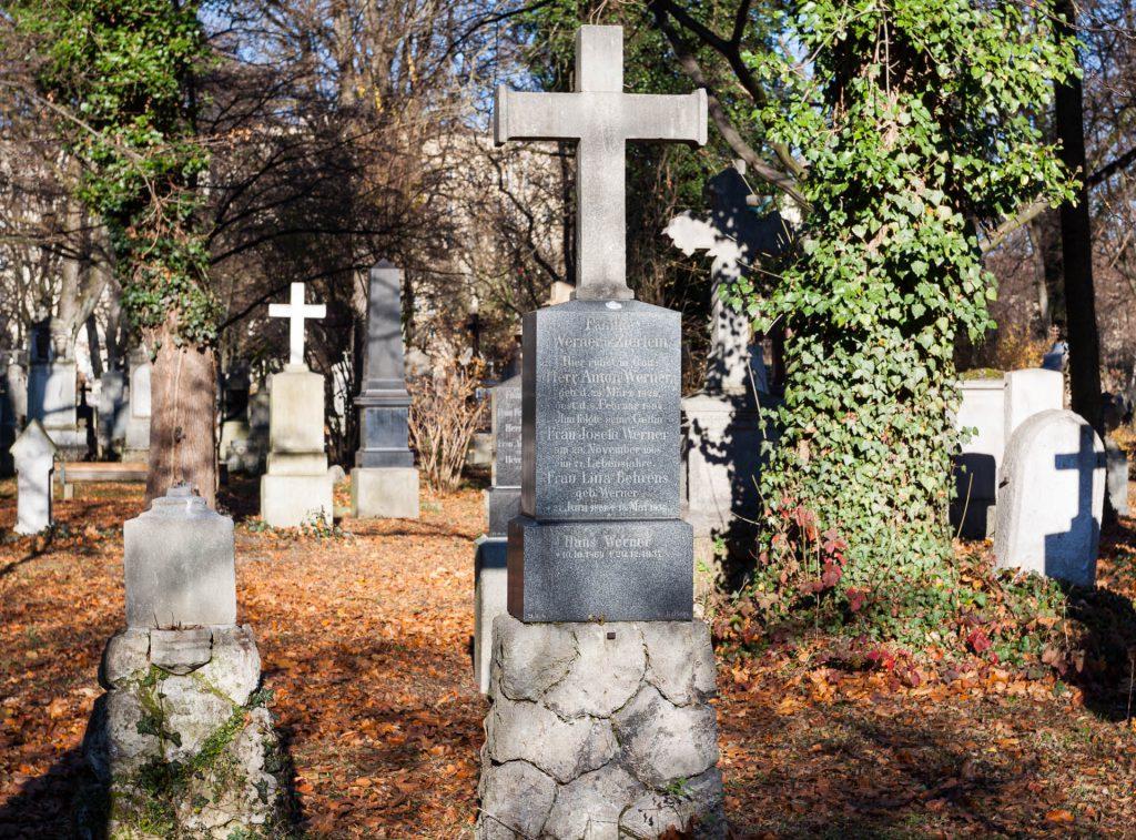 Alter Südfriedhof München animiert