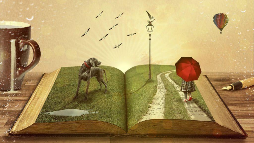 Buch – Hund – Märchen