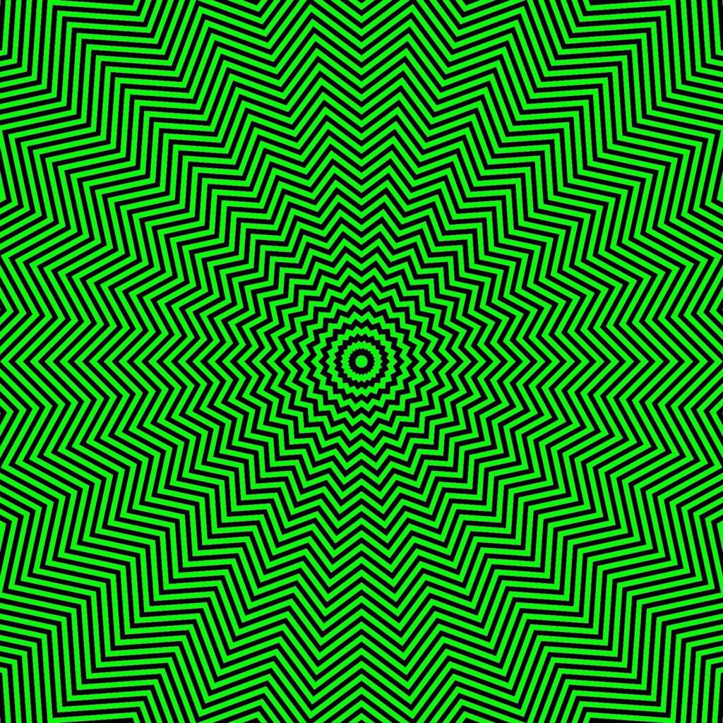 Grün ist nicht immer beruhigend