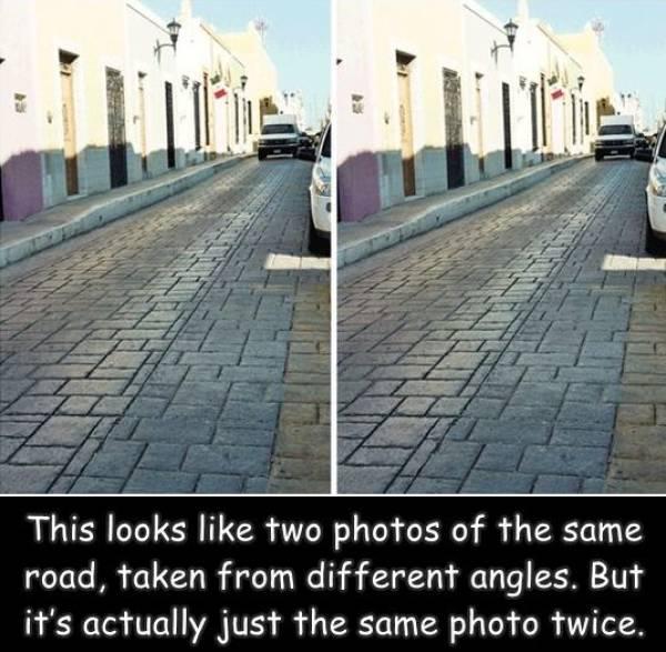 Verrückte Straße